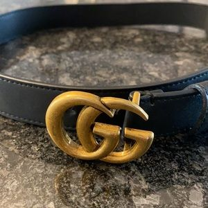 Authentic Gucci belt with box only